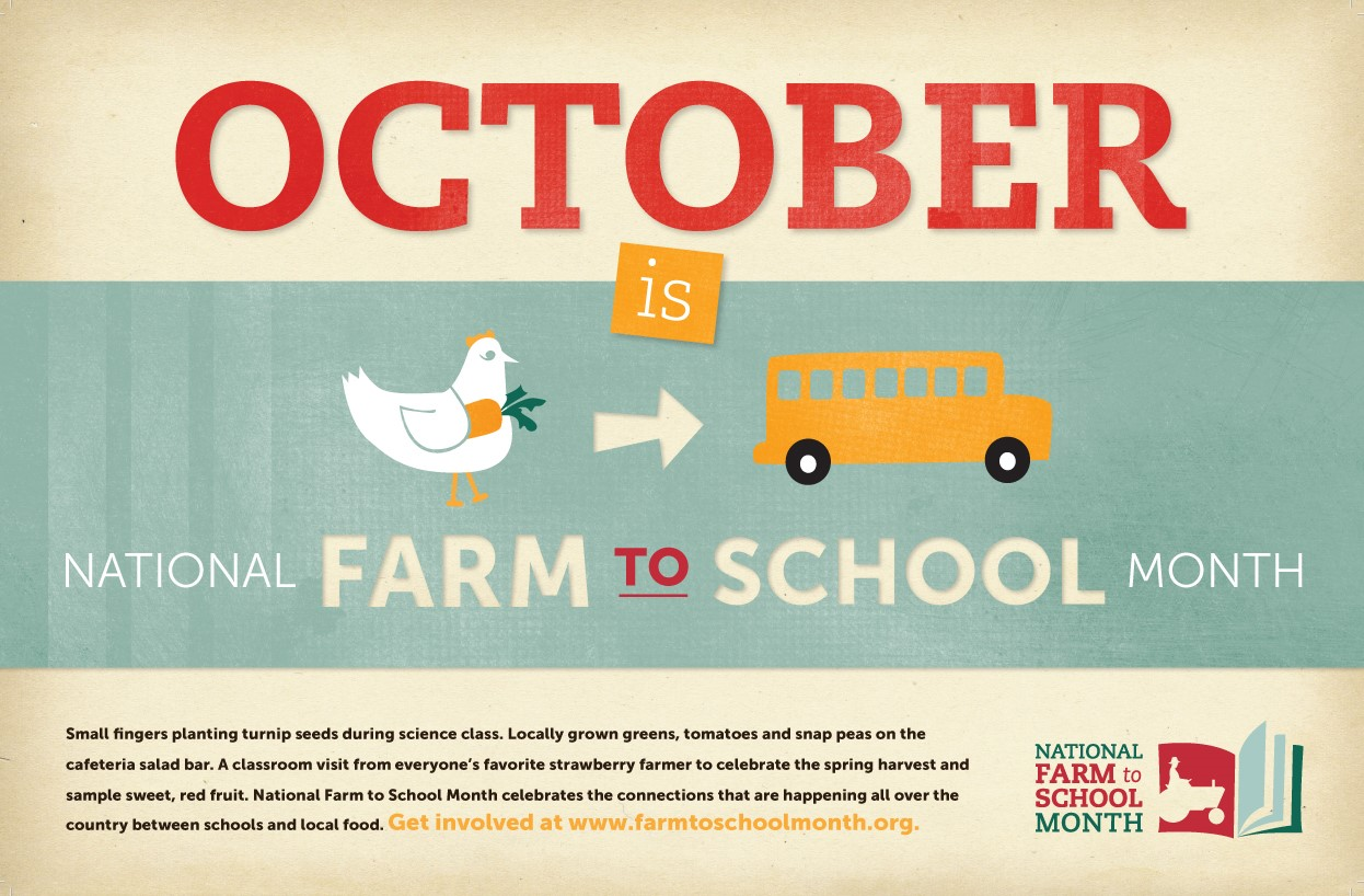 National Farm To School Month 2014