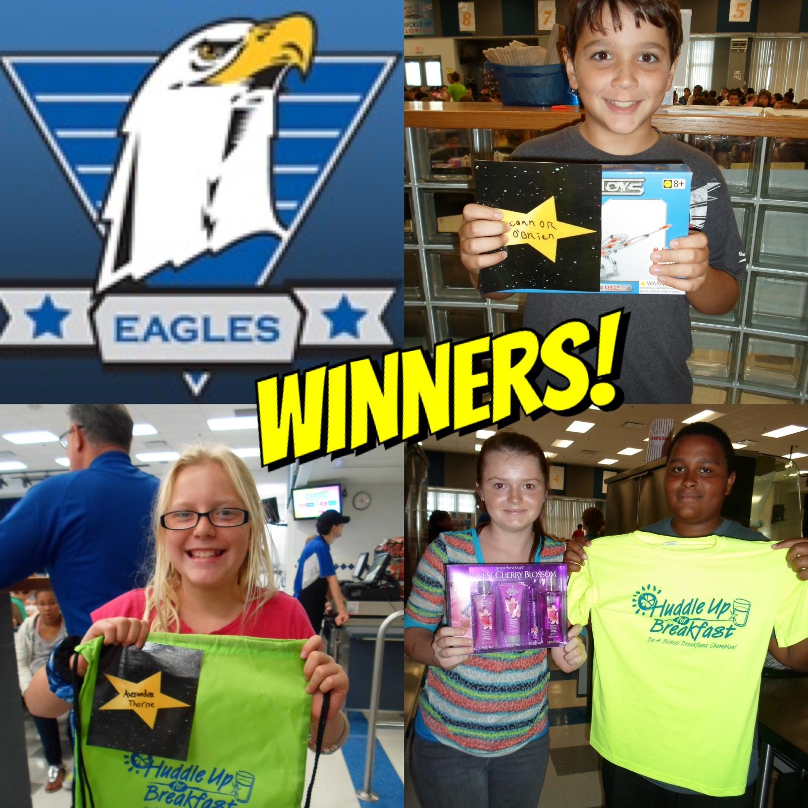 Paul R. Smith middle School Winners!