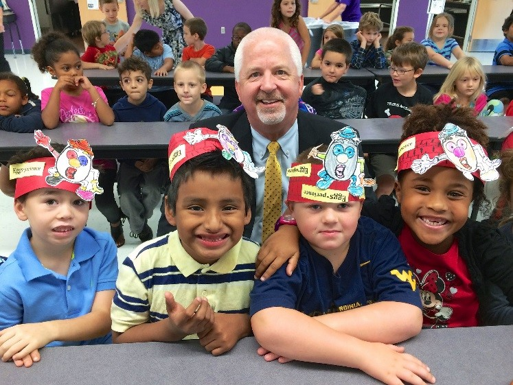 October's Farm to School Egg Event at Richey Elementary